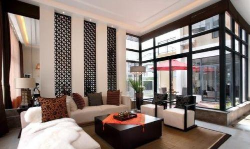 典雅大气时尚欧式客厅效果图