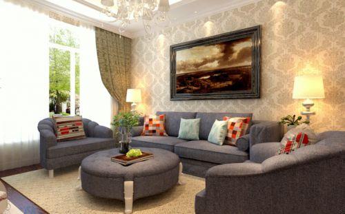 2016欧式风格客厅设计装修图