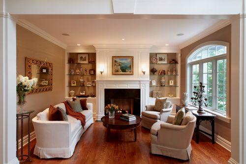大气华丽欧式乡村客厅设计欣赏