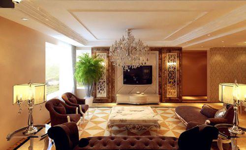 2016欧式风格客厅装修设计图
