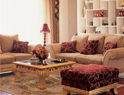 现代欧式风格客厅装饰效果