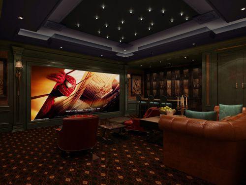 雅致时尚欧式风格客厅装修设计图