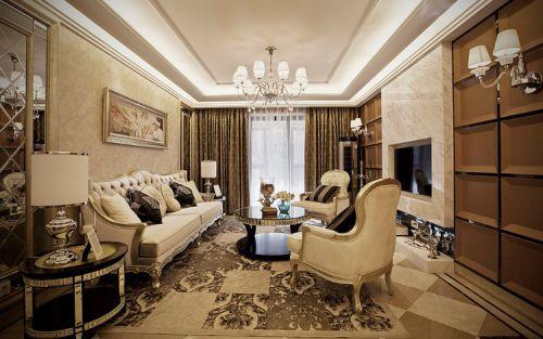 温馨欧式风格客厅设计赏析