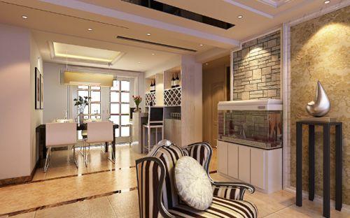 精致优雅欧式风格客厅装修图片