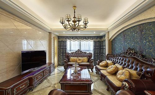 温馨欧式风格卧客厅装修效果图欣赏