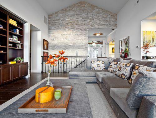 2016欧式风格灰色客厅设计赏析