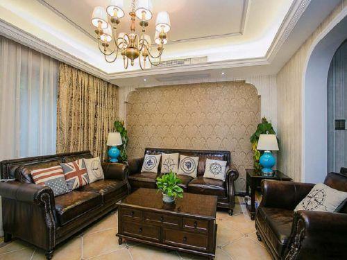 欧式风格客厅装修设计图