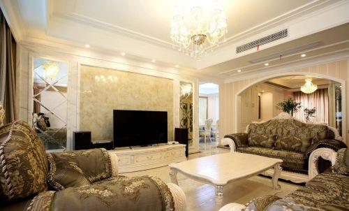 黄色雅致精美欧式风格客厅设计