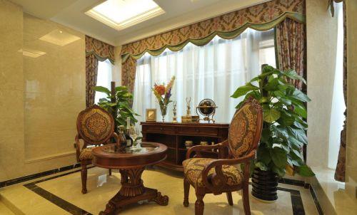 华丽欧式客厅风格设计图