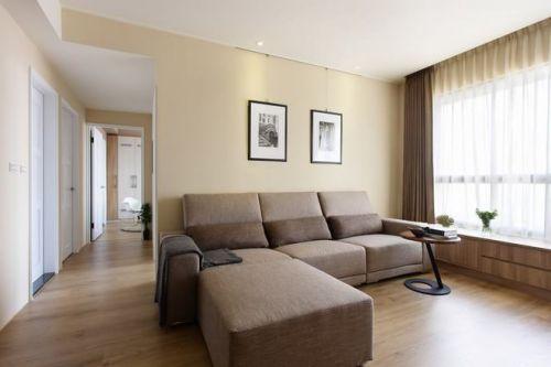 简洁欧式客厅设计案例2016