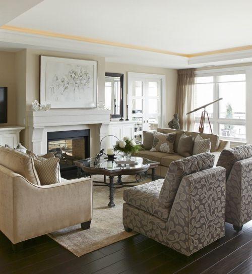 白色浪漫欧式客厅效果图欣赏
