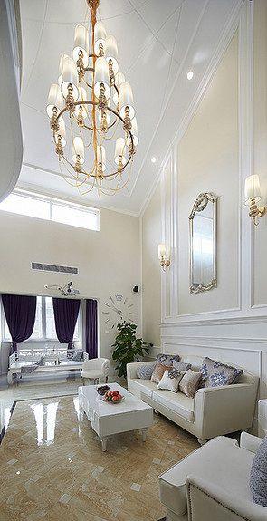 欧舒丹风格客厅装饰设计图片