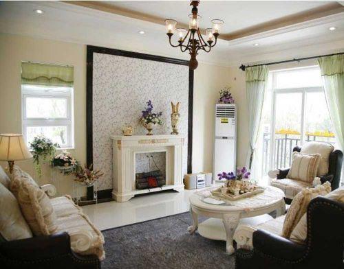 精致欧式风格客厅装修效果图