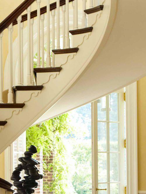欧式别墅装潢楼梯装修设计