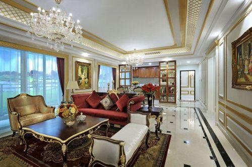 2016精致欧式风格客厅装修设计
