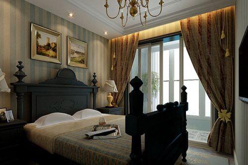 沉稳复古大气欧式风格客厅装潢设计