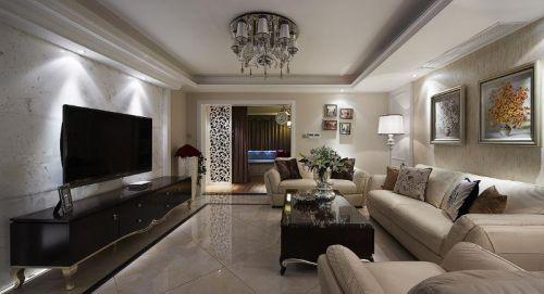 2016精致时尚欧式客厅装饰设计图片