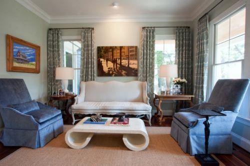 欧式风格客厅装修美图赏析