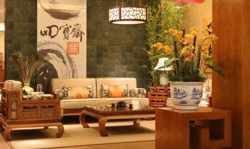 中式典雅时尚雅致客厅欣赏