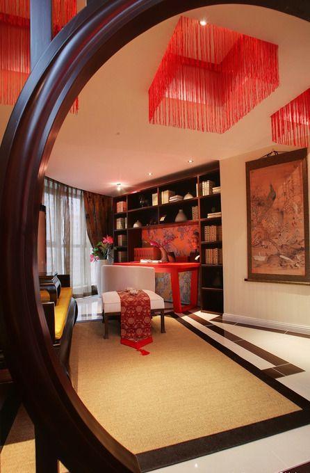 中式雅致客厅装修效果图片