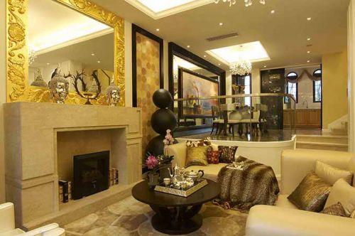 华丽欧式客厅装修案例