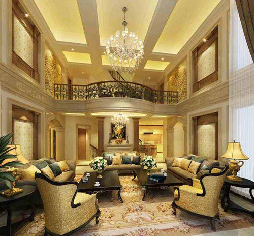 欧式时尚风格客厅装修图片