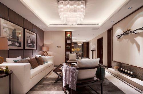 雅致中式风格客厅装修设计图