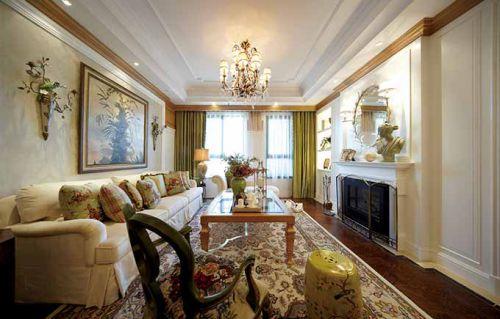 中式客厅装修案例欣赏