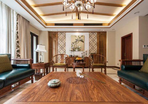 壁画中式客厅背景墙欣赏