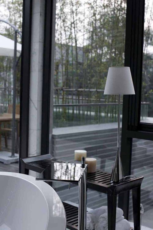 素净文雅新中式客厅局部设计欣赏