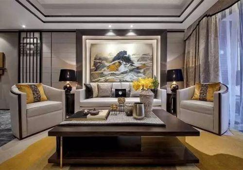 典雅中式客厅美图