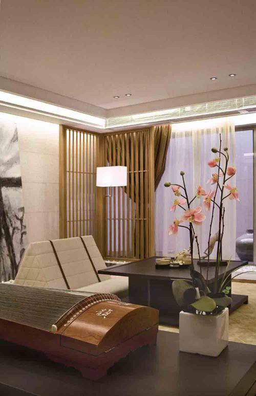 中式雅俗共赏客厅局部欣赏