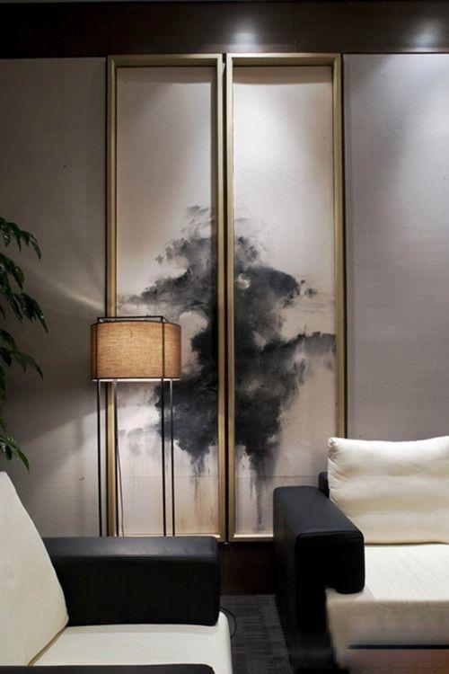 中式雅致客厅局部设计