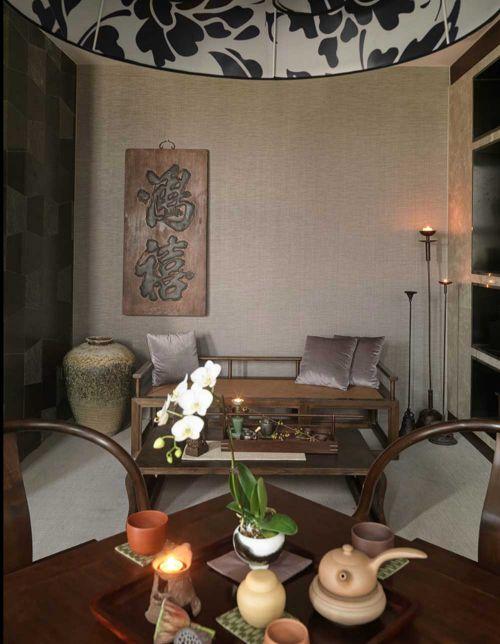 2018传统中式风格客厅装修