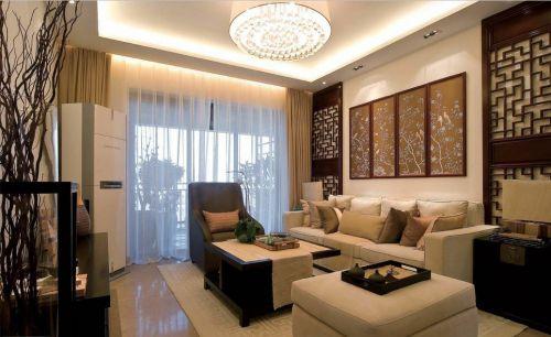 中式风格客厅2018装潢案例