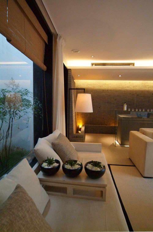 休闲意境中式元素客厅温馨设计图片