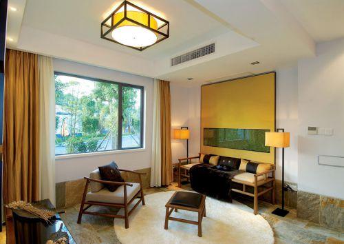 古典中式风格客厅装修案例