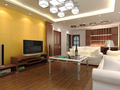 中式雅致客厅装修效果图