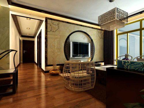 古风雅韵中式风格客厅装修效果