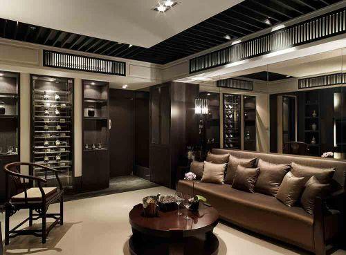 2018时尚品质新中式客厅精致设计