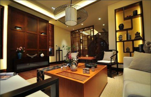 中式风格客厅装修效果图赏析