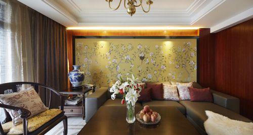 雅致中式风格客厅设计装修