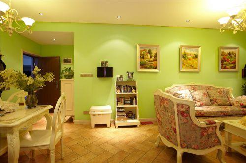 田园风格温馨客厅装修案例