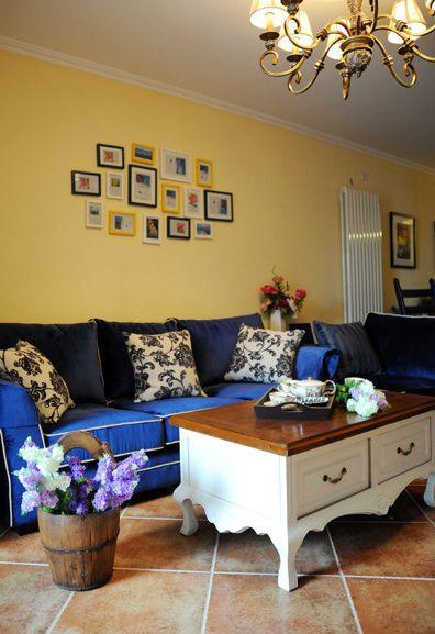 田园舒适客厅效果图赏析