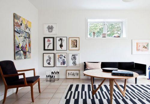 白色质感宜家风客厅装修图