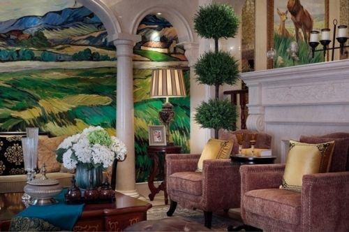 东南亚自然简约客厅美图欣赏