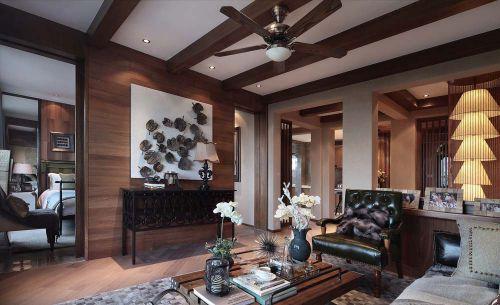 雅致东南亚风格客厅图片欣赏