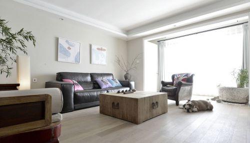 原木经典简致客厅设计