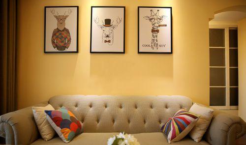 现代精致恬静式客厅装饰设计