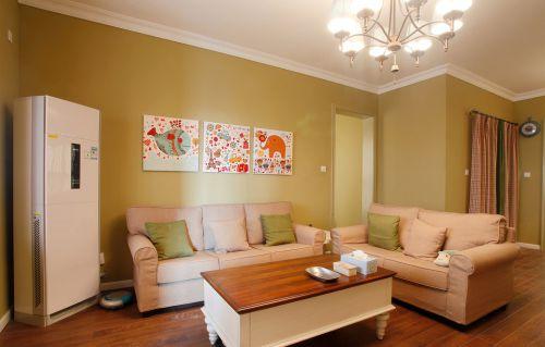 小户型温馨暖意客厅装修设计